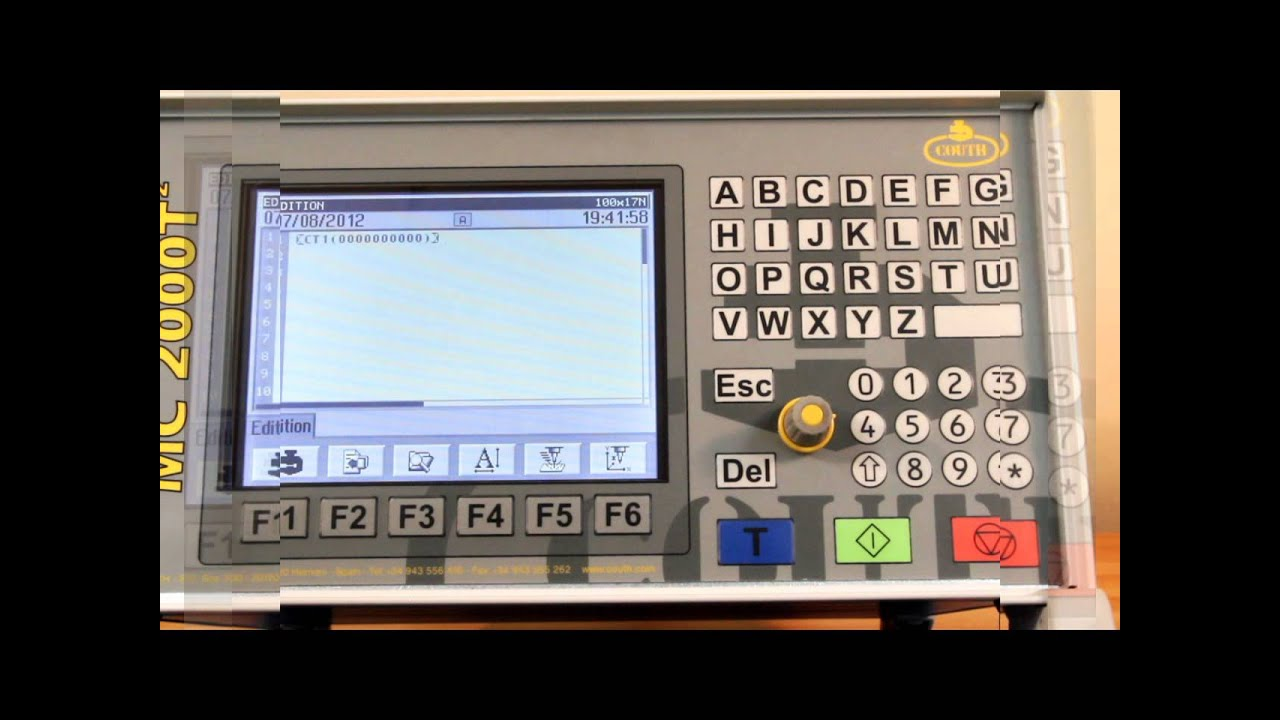 T2 Controller and MC2000 Dot Peen Software – MECCO