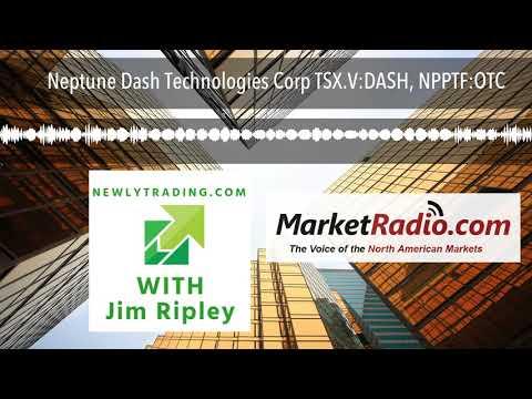 Neptune Dash Technologies Corp TSX.V:DASH, NPPTF:OTC