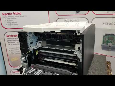 How To Remove and Replace HP M351 M451 Fuser Maintenance Kit. RM1-8054 RM2-5177 Part 2