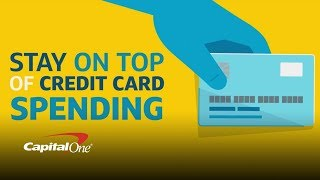 Stay On Top Of Your Finances With Purchase Notifications| Capital One thumbnail