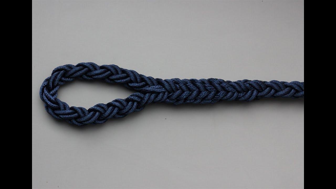 Eye splice in an 8 strand rope | Doovi