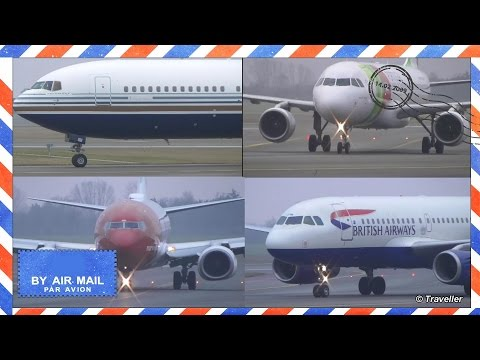 Copenhagen Airport Spotting - Flyvergrillen - Plane spotting at Copenhagen Airport