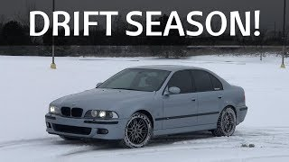 You DRIFT My BMW E39 M5 In A WINTER SNOW STORM! (POV)