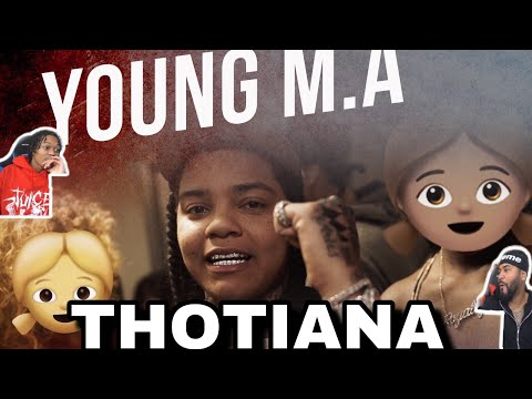 OOUUIANA 😮 Young M.A  Thotiana  Remix (Official Music Video) | FVO REACTION