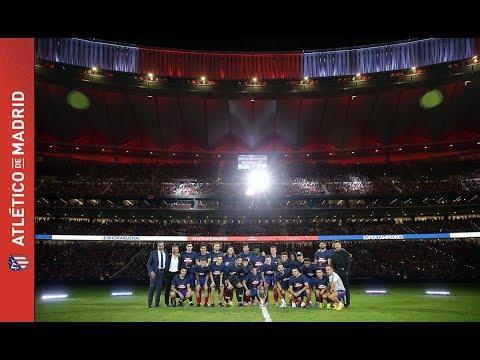 ¡El Wanda Metropolitano vibró con la celebración de los Súper Campeones!