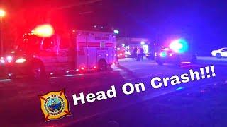 Head On Collision With Entrapment | Boca Raton Fire Rescue