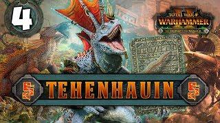 THE GREAT SKAVEN WAR BEGINS! Total War: Warhammer 2 - Lizardmen Campaign - Tehenhauin #4
