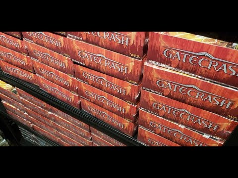 Taking a $31,300.00 LOSS investing in GateCrash in Magic The Gathering