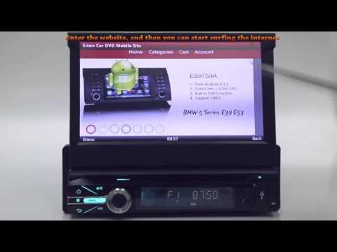 """ES7901M  7"""" Car Multimedia System DVD GPS RDS Radio SWC VMCD"""