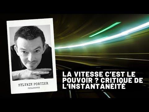 Leçon De Philosophie : La Vitesse, Sylvain Portier