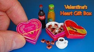 DIY Miniature Chocolate Valent…