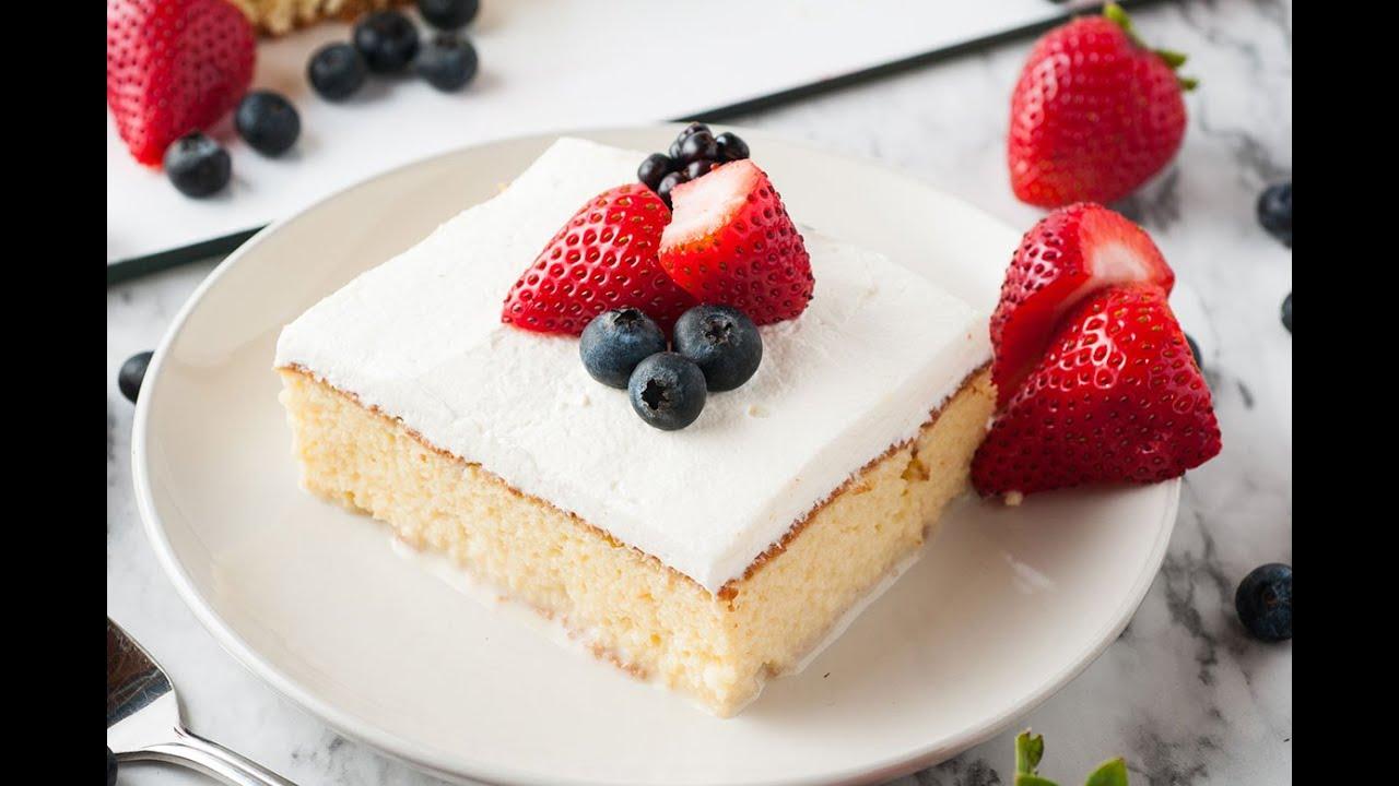 How To Make Three Milk Cake