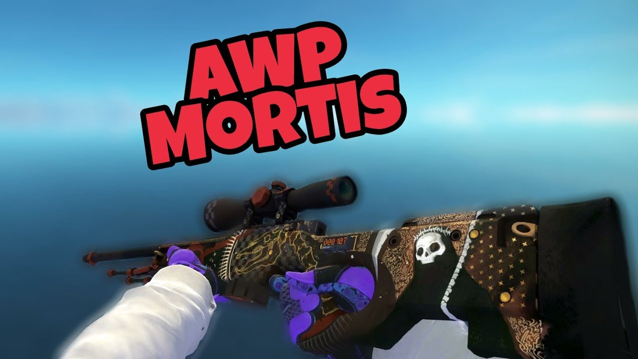 CS:GO - [Clutch Case] AWP Mortis | Showcase (All Wear)