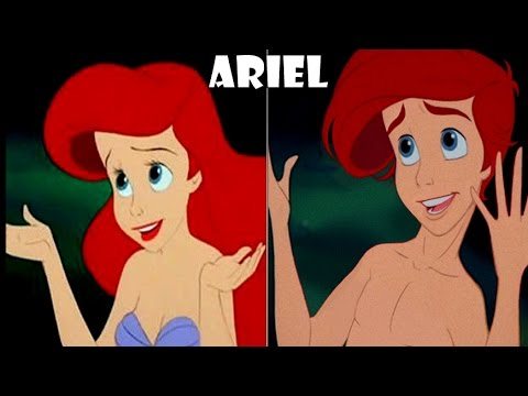 30 Gender Swapped Disney Characters That Actually Look Nice
