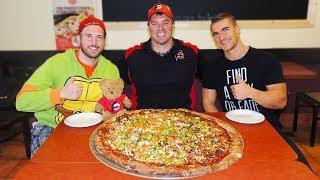 Undefeated DONAIR PIZZA Challenge in NOVA SCOTIA!!