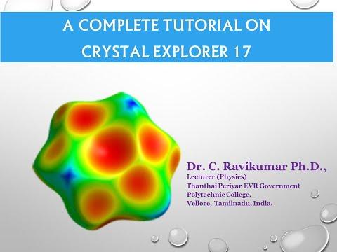Crystal Explorer - Hirshfeld surfaces, interaction energies, Energy framework network analysis