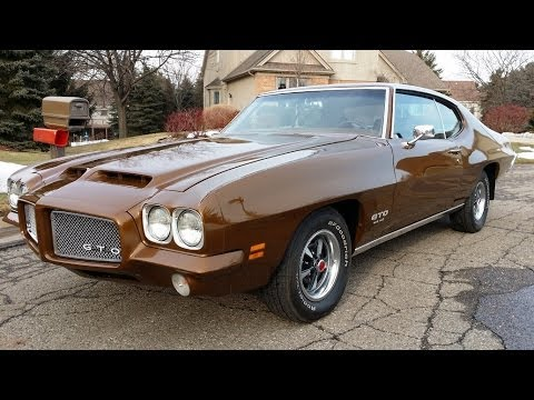 1971 Pontiac GTO HO 100 mph test drive! for sale auto appraisal Detroit Mi