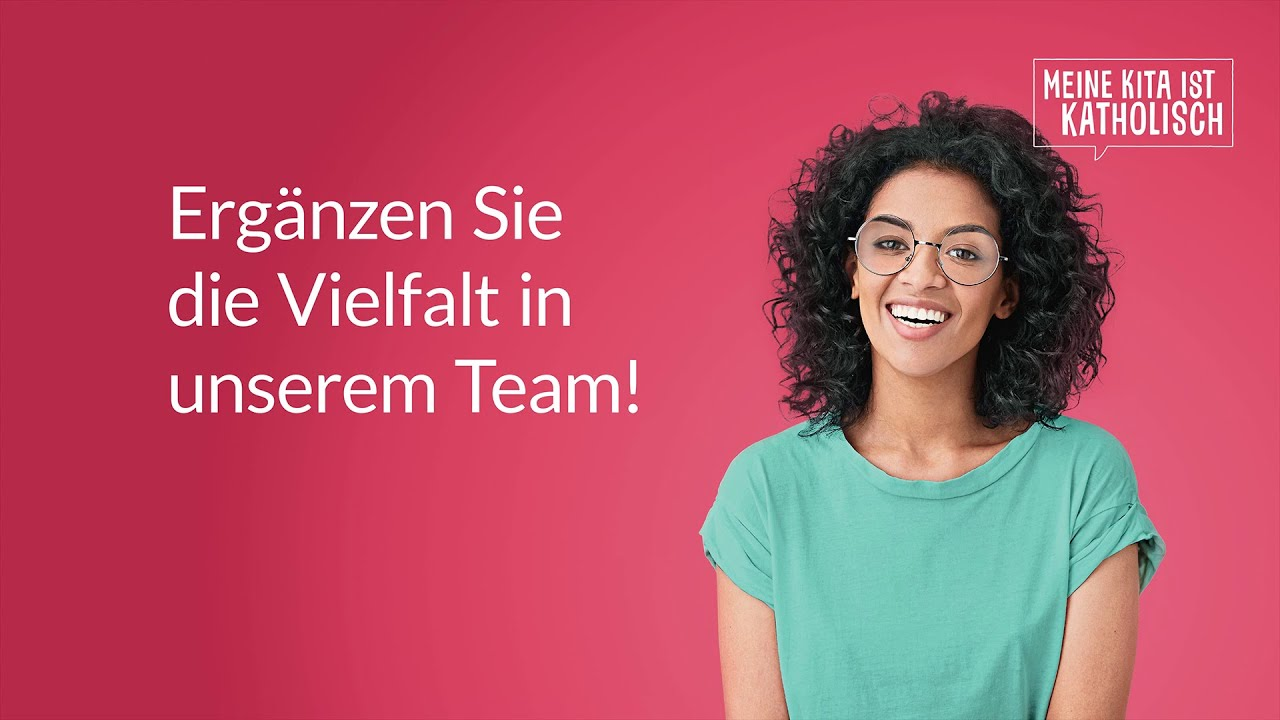 """Vielfalt im Team - Kampagne """"Meine Kita ist katholisch"""""""