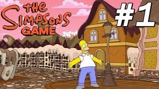 The Simpsons Game - #1 : The Land of Chocolate !!! [PT-BR]
