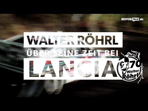 Walter Röhrl und Lancia