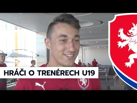 Euro U19: Jak vnímají hráči trenéry v českém týmu (7. 7. 2017, Tbilisi)