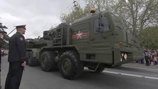 Парад военной техники России в Севастополе - Крым 9 мая 2019 День Победы