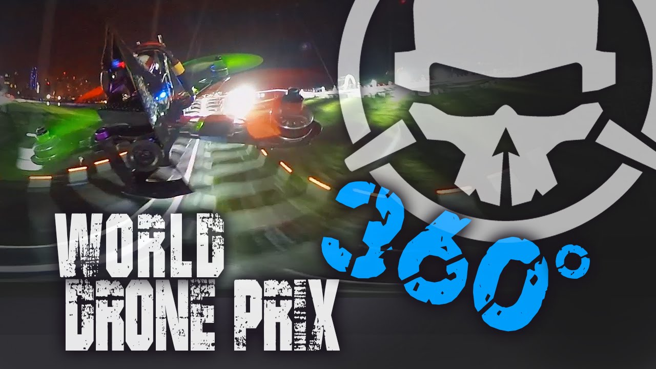 World Drone Prix Track 360