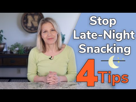 4 Tips to Stop Late Night Snacking