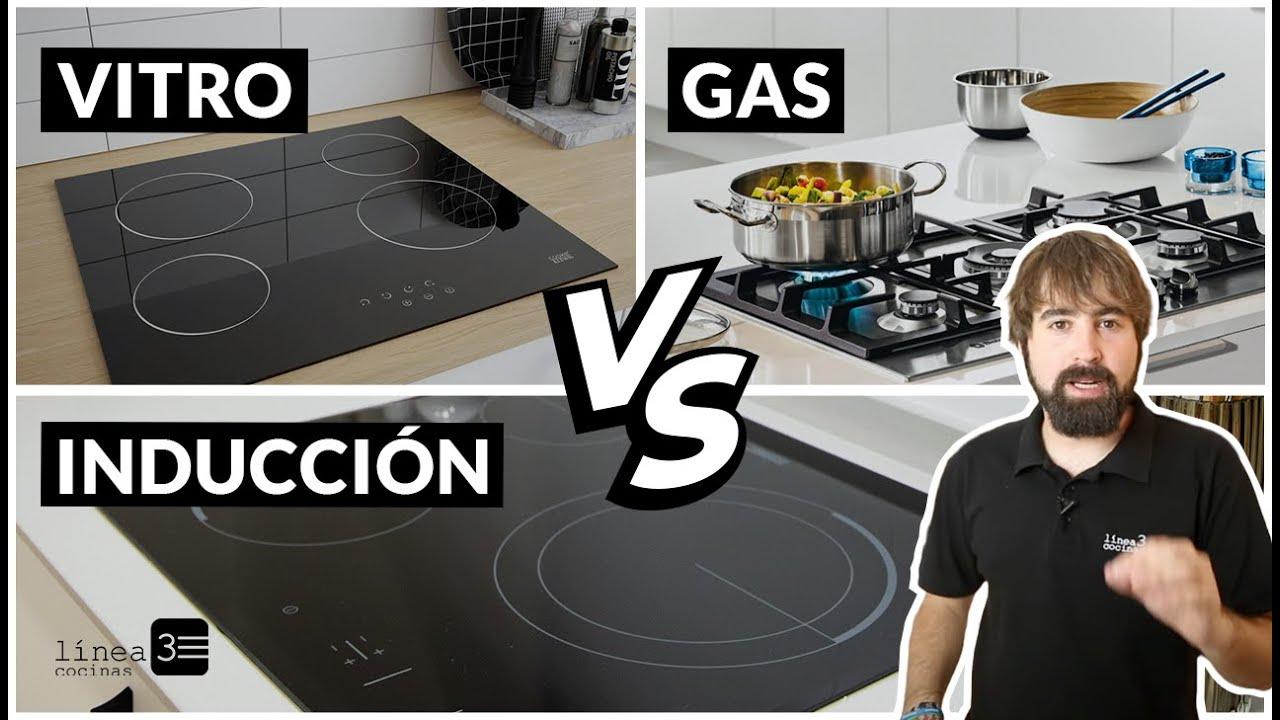 Diferencia Entre Inducción Vitrocerámica Y Gas Youtube