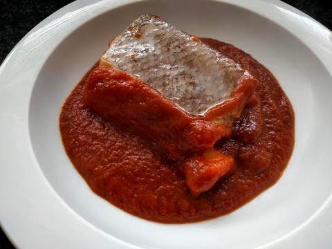 Bacallà a la vizcaína - Recepta de cuina de Marc Picanyol