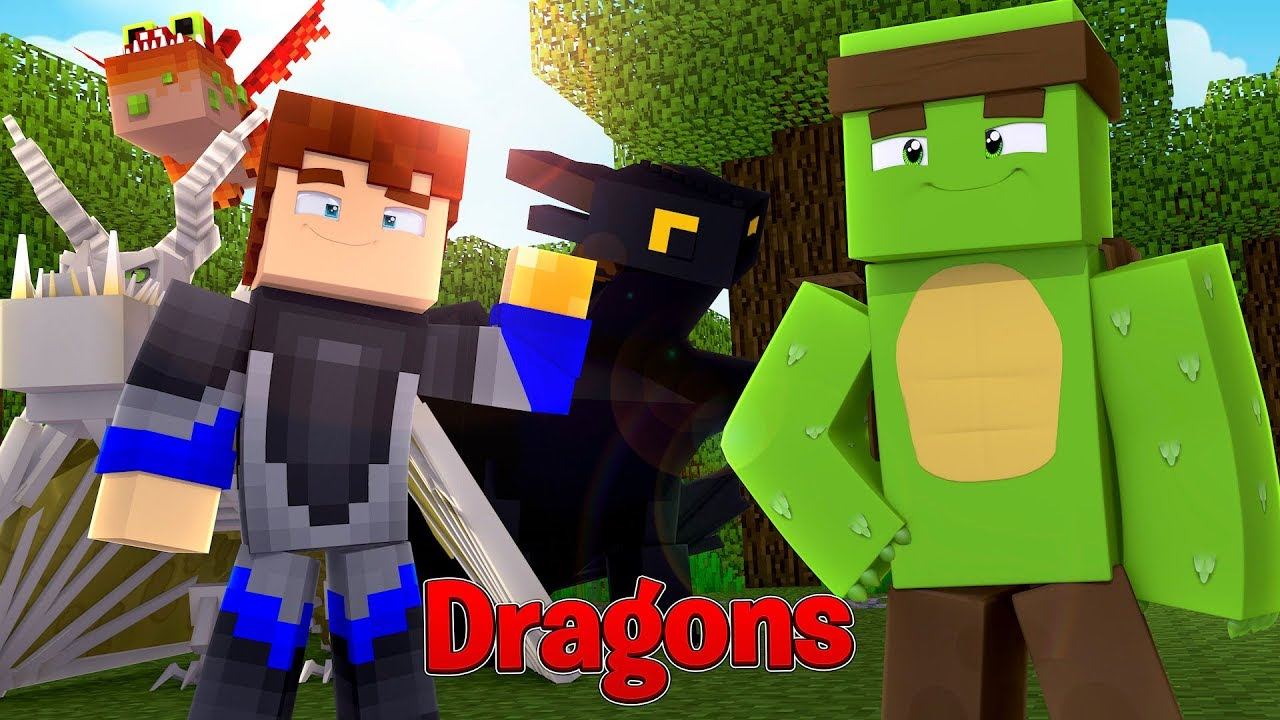 Scuba Steve His Gronkle Are Back Minecraft Dragons W