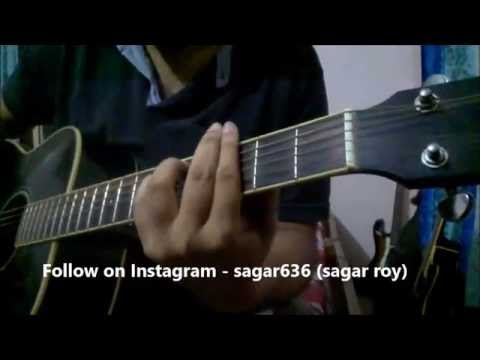 Chal Wahan Jaate Hai Guitar Lesson | Simple Chords for Beginners | Arijit Singh
