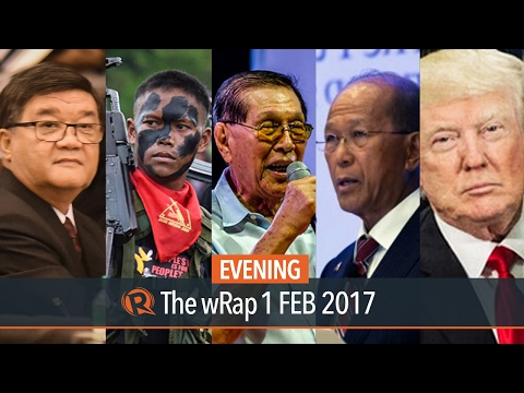 Enrile, Lorenzana, Aguirre | Evening wRap