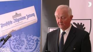 Begrüßung zum Tag der Heimat 2016 des BdV-Kreisverbandes Viersen durch Jürgen Zauner