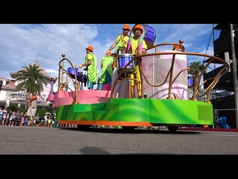 Superstar Parade, Rides, and NBC Sports & Brew - 2016 Vacation Day 2 Part 3 (10-13-16)
