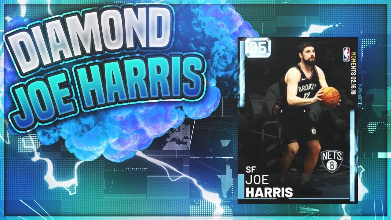 bde20ff7837 NEW ALL STAR MOMENTS DIAMOND JOE HARRIS!! BEST SHOOTING CARD IN MYTEAM!!