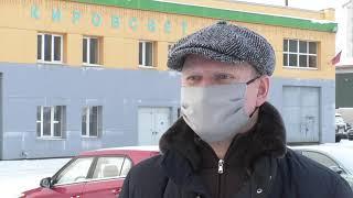 В Кирове включают новогоднюю иллюминацию