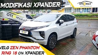 Modifikasi Mobil XPANDER Pakai Velg Mobil Ring 18 Zen Phantom By Sinar Otomax