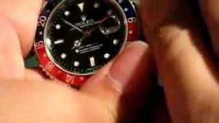 Rolex GMT2 stick dial - Wiggle Test