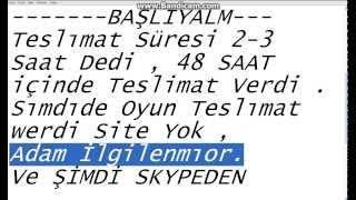 İSTANBUL-BİLİSİM.com DOLANDIRCILIK