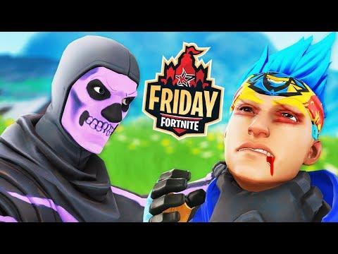 MrSavage vs Ninja in Friday Fortnite