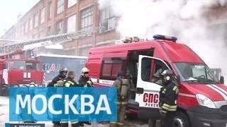 На складе в Ногинске не могут потушить крупный пожар(, 2016-01-29T16:53:54.000Z)