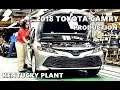 2018 Toyota Camry Production at Kentucky Plant