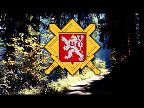 """Czechoslovak Mobilisation Song (1938) - """"U našich kasáren"""""""