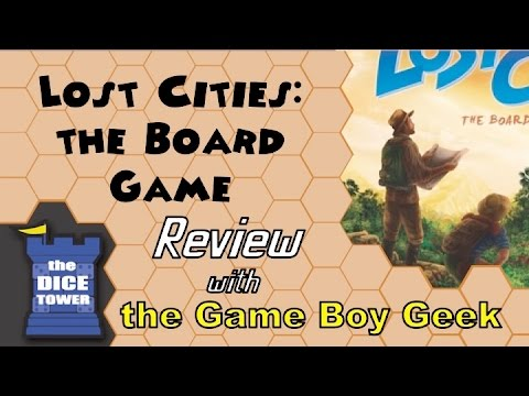 Lost Cities: The Board GameReview - With The Game Boy Geek