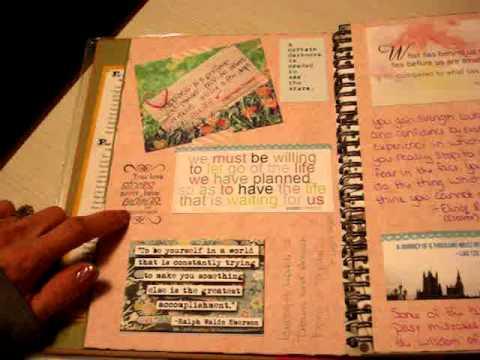 scrapbook ideas for boyfriend birthday