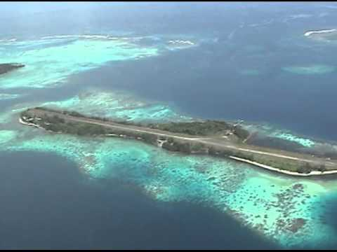 World Flying Adventure - Solomon Is., Gizo islands' airstrip