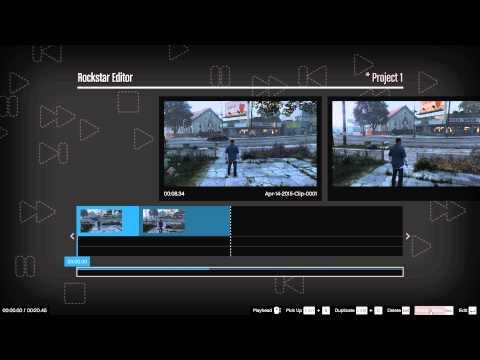 GTA V How to open Rockstar Editor