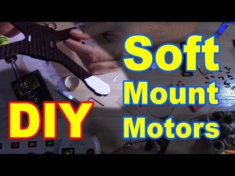 Soft Mount моторов Своими руками