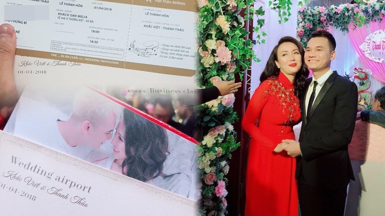 Lộ ảnh thiệp cưới độc đáo có 1-0-2 của Khắc Việt và bà xã DJ xinh đẹp !!!